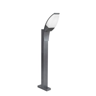 Eglo PANAMA 1 93522 светильник уличныйОдиночные фонари<br><br><br>Тип товара: светильник уличный<br>Тип лампы: LED - светодиодная<br>Тип цоколя: GX53-LED<br>Количество ламп: 1<br>MAX мощность ламп, Вт: 7<br>Размеры основания, мм: 205*75<br>Длина, мм: 110<br>Высота, мм: 1050<br>Оттенок (цвет): белый<br>Цвет арматуры: черный<br>Общая мощность, Вт: 2