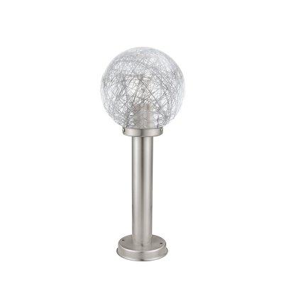 Eglo NISIA 1 93553 светильник уличныйФонари на столб<br>Обеспечение качественного уличного освещения – важная задача для владельцев коттеджей. Компания «Светодом» предлагает современные светильники, которые порадуют Вас отличным исполнением. В нашем каталоге представлена продукция известных производителей, пользующихся популярностью благодаря высокому качеству выпускаемых товаров.   Уличный светильник Eglo 93553 не просто обеспечит качественное освещение, но и станет украшением Вашего участка. Модель выполнена из современных материалов и имеет влагозащитный корпус, благодаря которому ей не страшны осадки.   Купить уличный светильник Eglo 93553, представленный в нашем каталоге, можно с помощью онлайн-формы для заказа. Чтобы задать имеющиеся вопросы, звоните нам по указанным телефонам.<br><br>Тип лампы: накаливания / энергосбережения / LED-светодиодная<br>Тип цоколя: E27<br>Количество ламп: 1<br>MAX мощность ламп, Вт: 60<br>Диаметр, мм мм: 200<br>Размеры основания, мм: 130<br>Высота, мм: 500<br>Оттенок (цвет): прозрачный, алюминий<br>Цвет арматуры: серебристый<br>Общая мощность, Вт: 2