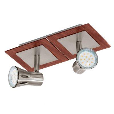 Eglo ALGONDA 93556 Светильник поворотный спотДвойные<br>Светильники-споты – это оригинальные изделия с современным дизайном. Они позволяют не ограничивать свою фантазию при выборе освещения для интерьера. Такие модели обеспечивают достаточно качественный свет. Благодаря компактным размерам Вы можете использовать несколько спотов для одного помещения.  Интернет-магазин «Светодом» предлагает необычный светильник-спот Eglo 93556 по привлекательной цене. Эта модель станет отличным дополнением к люстре, выполненной в том же стиле. Перед оформлением заказа изучите характеристики изделия.  Купить светильник-спот Eglo 93556 в нашем онлайн-магазине Вы можете либо с помощью формы на сайте, либо по указанным выше телефонам. Обратите внимание, что у нас склады не только в Москве и Екатеринбурге, но и других городах России.<br><br>Тип лампы: LED - светодиодная<br>Тип цоколя: GU10<br>Ширина, мм: 120<br>MAX мощность ламп, Вт: 3<br>Размеры основания, мм: 0<br>Длина, мм: 240<br>Цвет арматуры: серый<br>Общая мощность, Вт: 2X3W