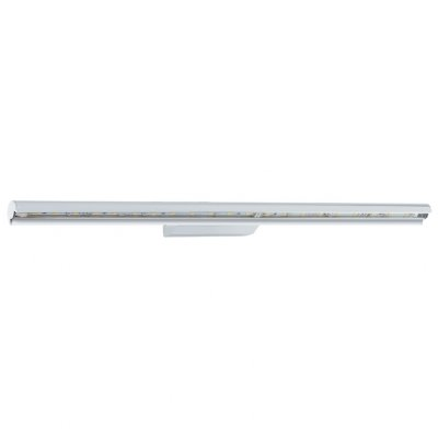 Eglo TERROS 93665 Настенно-потолочный светильникХай-тек<br><br><br>Тип товара: Настенно-потолочный светильник<br>Скидка, %: 6<br>Цветовая t, К: 3000 (теплый белый)<br>Тип лампы: LED - светодиодная<br>Тип цоколя: LED<br>MAX мощность ламп, Вт: 10.5<br>Размеры основания, мм: 0<br>Длина, мм: 570<br>Расстояние от стены, мм: 85<br>Высота, мм: 45<br>Оттенок (цвет): прозрачный<br>Цвет арматуры: серебристый<br>Общая мощность, Вт: 10,5W
