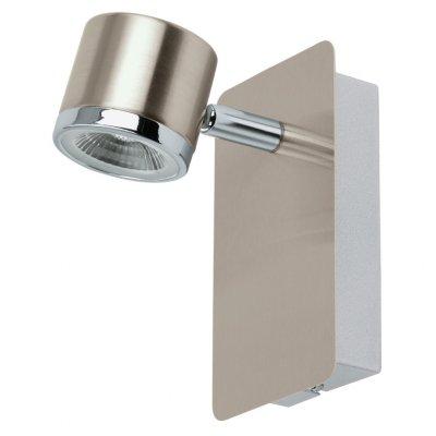 Eglo PIERINO 93693 Светильник поворотный спотОдиночные<br>Светильники-споты – это оригинальные изделия с современным дизайном. Они позволяют не ограничивать свою фантазию при выборе освещения для интерьера. Такие модели обеспечивают достаточно качественный свет. Благодаря компактным размерам Вы можете использовать несколько спотов для одного помещения.  Интернет-магазин «Светодом» предлагает необычный светильник-спот Eglo 93693 по привлекательной цене. Эта модель станет отличным дополнением к люстре, выполненной в том же стиле. Перед оформлением заказа изучите характеристики изделия.  Купить светильник-спот Eglo 93693 в нашем онлайн-магазине Вы можете либо с помощью формы на сайте, либо по указанным выше телефонам. Обратите внимание, что у нас склады не только в Москве и Екатеринбурге, но и других городах России.<br><br>S освещ. до, м2: 2<br>Цветовая t, К: 3000 (теплый белый)<br>Тип лампы: LED - светодиодная<br>Тип цоколя: LED<br>Цвет арматуры: серый<br>Размеры основания, мм: 0<br>Длина, мм: 80<br>Высота, мм: 140<br>MAX мощность ламп, Вт: 5<br>Общая мощность, Вт: 1X5W