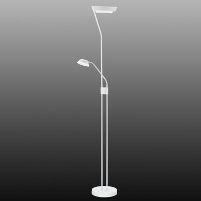 Eglo SARRIONE 93711 Торшер напольныйХай-тек<br>Торшер – это не просто функциональный предмет интерьера, позволяющий обеспечить дополнительное освещение, но и оригинальный декоративный элемент. Интернет-магазин «Светодом» предлагает стильные модели от известных производителей по доступным ценам. У нас Вы найдете и классические напольные светильники, и современные варианты.   Торшер 93711 Eglo сразу же привлекает внимание благодаря своему необычному дизайну. Модель выполнена из качественных материалов, что обеспечит ее надежную и долговечную работу. Такой напольный светильник можно использовать для интерьера не только гостиной, но и спальни или кабинета.   Купить торшер 93711 Eglo по выгодной стоимости Вы можете с помощью нашего сайта. Мы доставляем заказы по Москве, Екатеринбургу и другим городам России.<br><br>Тип товара: Торшер напольный<br>Цветовая t, К: 3000 (теплый белый)<br>Тип лампы: LED - светодиодная<br>Тип цоколя: LED<br>Размеры основания, мм: 250<br>Высота, мм: 1800<br>Оттенок (цвет): матовый<br>Цвет арматуры: белый<br>Общая мощность, Вт: 17,28W