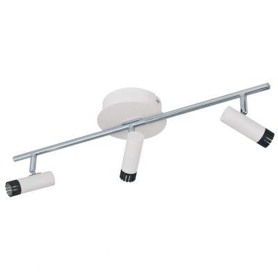 Eglo LIANELLO 93811 Светильник поворотный спотТройные<br>Светильники-споты – это оригинальные изделия с современным дизайном. Они позволяют не ограничивать свою фантазию при выборе освещения для интерьера. Такие модели обеспечивают достаточно качественный свет. Благодаря компактным размерам Вы можете использовать несколько спотов для одного помещения.  Интернет-магазин «Светодом» предлагает необычный светильник-спот Eglo 93811 по привлекательной цене. Эта модель станет отличным дополнением к люстре, выполненной в том же стиле. Перед оформлением заказа изучите характеристики изделия.  Купить светильник-спот Eglo 93811 в нашем онлайн-магазине Вы можете либо с помощью формы на сайте, либо по указанным выше телефонам. Обратите внимание, что у нас склады не только в Москве и Екатеринбурге, но и других городах России.<br><br>S освещ. до, м2: 1<br>Цветовая t, К: 3000 (теплый белый)<br>Тип лампы: LED - светодиодная<br>Тип цоколя: LED<br>Цвет арматуры: белый<br>Количество ламп: 3<br>Ширина, мм: 120<br>Размеры основания, мм: 0<br>Длина, мм: 585<br>MAX мощность ламп, Вт: 5<br>Общая мощность, Вт: 3X5W