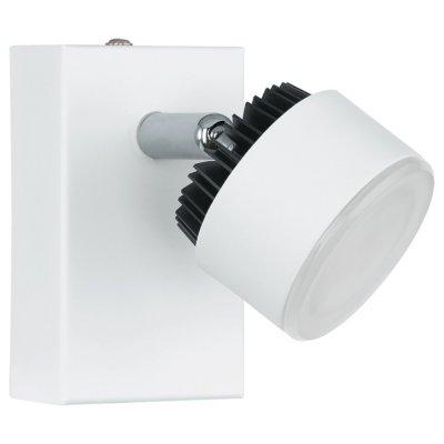 Eglo ARMENTO 93852 Светильник поворотный спотОдиночные<br>Светильники-споты – это оригинальные изделия с современным дизайном. Они позволяют не ограничивать свою фантазию при выборе освещения для интерьера. Такие модели обеспечивают достаточно качественный свет. Благодаря компактным размерам Вы можете использовать несколько спотов для одного помещения.  Интернет-магазин «Светодом» предлагает необычный светильник-спот Eglo 93852 по привлекательной цене. Эта модель станет отличным дополнением к люстре, выполненной в том же стиле. Перед оформлением заказа изучите характеристики изделия.  Купить светильник-спот Eglo 93852 в нашем онлайн-магазине Вы можете либо с помощью формы на сайте, либо по указанным выше телефонам. Обратите внимание, что у нас склады не только в Москве и Екатеринбурге, но и других городах России.<br><br>Цветовая t, К: 3000 (теплый белый)<br>Тип лампы: LED - светодиодная<br>Тип цоколя: LED<br>MAX мощность ламп, Вт: 6<br>Размеры основания, мм: 0<br>Длина, мм: 60<br>Высота, мм: 100<br>Цвет арматуры: белый<br>Общая мощность, Вт: 1X6W