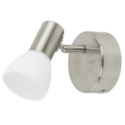 Светильник поворотный спот Eglo 93857 GLOSSY 1одиночные споты<br>Светильники-споты – это оригинальные изделия с современным дизайном. Они позволяют не ограничивать свою фантазию при выборе освещения для интерьера. Такие модели обеспечивают достаточно качественный свет. Благодаря компактным размерам Вы можете использовать несколько спотов для одного помещения. <br>Интернет-магазин «Светодом» предлагает необычный светильник-спот Eglo 93857 по привлекательной цене. Эта модель станет отличным дополнением к люстре, выполненной в том же стиле. Перед оформлением заказа изучите характеристики изделия. <br>Купить светильник-спот Eglo 93857 в нашем онлайн-магазине Вы можете либо с помощью формы на сайте, либо по указанным выше телефонам. Обратите внимание, что у нас склады не только в Москве и Екатеринбурге, но и других городах России.
