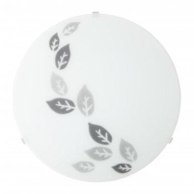 Светильник настенно-потолочный Brilliant 93909/70 KLEAКруглые<br>Зачастую мы ищем идеальное освещение для своего дома и уделяем этому достаточно много времени. Так, например, если нам нужен светильник с количеством ламп - 1 и цвет плафонов должен быть - белый с рисунком, а материал плафонов только стекло! То нам, как вариант, подойдет модель - лампа настенная или потолочная Brilliant 93909/70.<br><br>S освещ. до, м2: 4<br>Тип лампы: накаливания / энергосбережения / LED-светодиодная<br>Тип цоколя: E27<br>Количество ламп: 1<br>MAX мощность ламп, Вт: 60<br>Диаметр, мм мм: 250<br>Высота, мм: 80<br>Цвет арматуры: белый