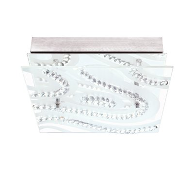 Eglo VERDESCA 93922 Настенно-потолочные светильникиКвадратные<br>Настенно-потолочные светильники – это универсальные осветительные варианты, которые подходят для вертикального и горизонтального монтажа. В интернет-магазине «Светодом» Вы можете приобрести подобные модели по выгодной стоимости. В нашем каталоге представлены как бюджетные варианты, так и эксклюзивные изделия от производителей, которые уже давно заслужили доверие дизайнеров и простых покупателей.  Настенно-потолочный светильник Eglo 93922 станет прекрасным дополнением к основному освещению. Благодаря качественному исполнению и применению современных технологий при производстве эта модель будет радовать Вас своим привлекательным внешним видом долгое время. Приобрести настенно-потолочный светильник Eglo 93922 можно, находясь в любой точке России.<br><br>S освещ. до, м2: 7<br>Цветовая t, К: 3000 (теплый белый)<br>Тип лампы: LED - светодиодная<br>Тип цоколя: LED<br>Количество ламп: 4 LED<br>Ширина, мм: 270<br>MAX мощность ламп, Вт: 4,5<br>Размеры основания, мм: 0<br>Длина, мм: 270<br>Расстояние от стены, мм: 75<br>Оттенок (цвет): белый, прозрачный<br>Цвет арматуры: серебристый<br>Общая мощность, Вт: 4X5,4W