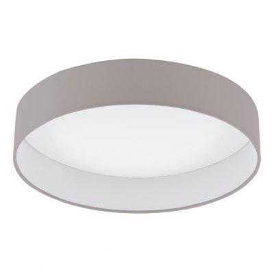 Eglo PALOMARO 93951 Настенно-потолочный светильникПотолочные<br>Компания «Светодом» предлагает широкий ассортимент люстр от известных производителей. Представленные в нашем каталоге товары выполнены из современных материалов и обладают отличным качеством. Благодаря широкому ассортименту Вы сможете найти у нас люстру под любой интерьер. Мы предлагаем как классические варианты, так и современные модели, отличающиеся лаконичностью и простотой форм.  Стильная люстра Eglo 93951 станет украшением любого дома. Эта модель от известного производителя не оставит равнодушным ценителей красивых и оригинальных предметов интерьера. Люстра Eglo 93951 обеспечит равномерное распределение света по всей комнате. При выборе обратите внимание на характеристики, позволяющие приобрести наиболее подходящую модель. Купить понравившуюся люстру по доступной цене Вы можете в интернет-магазине «Светодом».<br><br>Установка на натяжной потолок: Да<br>S освещ. до, м2: 7<br>Крепление: Планка<br>Цветовая t, К: 3000 (теплый белый)<br>Тип лампы: LED - светодиодная<br>Тип цоколя: LED<br>MAX мощность ламп, Вт: 18<br>Диаметр, мм мм: 405<br>Размеры основания, мм: 0<br>Высота, мм: 100<br>Оттенок (цвет): темно-серый<br>Цвет арматуры: белый<br>Общая мощность, Вт: 18W