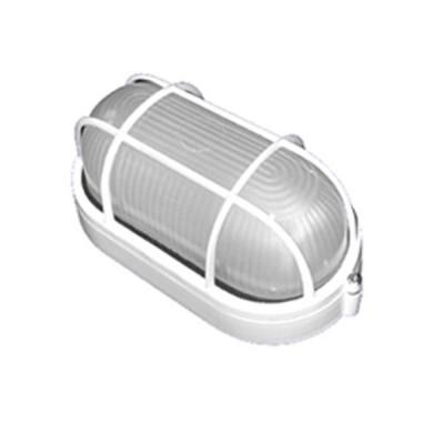 Светильник Navigator 94 801 белыйДля подъездов и саун<br>Влагозащищенные светильники типа NBL-O овальной формы предназначены для использования с лампами накаливания со стандартным цоколем Е27 и поставляются в двух типоразмерах – для ламп максимальной мощностью 60 Вт и 100 Вт и степенью защиты от воздействия окружающей среды IP54.<br><br>Тип лампы: накал-я - энергосб-я<br>Тип цоколя: E27<br>Ширина, мм: 195<br>Расстояние от стены, мм: 85<br>Высота, мм: 105<br>MAX мощность ламп, Вт: 60W