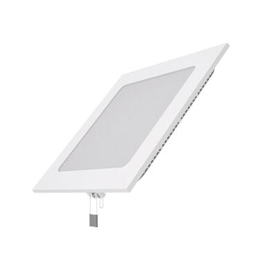 Светодиодный встраиваемый светильник Gauss ультратонкий квадратный IP20 9W 2700KКвадратные LED<br>Встраиваемые светильники – популярное осветительное оборудование, которое можно использовать в качестве основного источника или в дополнение к люстре. Они позволяют создать нужную атмосферу атмосферу и привнести в интерьер уют и комфорт.   Интернет-магазин «Светодом» предлагает стильный встраиваемый светильник Gauss 9W 2700K ультра-ий квадратный IP20. Данная модель достаточно универсальна, поэтому подойдет практически под любой интерьер. Перед покупкой не забудьте ознакомиться с техническими параметрами, чтобы узнать тип цоколя, площадь освещения и другие важные характеристики.   Приобрести встраиваемый светильник Gauss 9W 2700K ультра-ий квадратный IP20 в нашем онлайн-магазине Вы можете либо с помощью «Корзины», либо по контактным номерам. Мы развозим заказы по Москве, Екатеринбургу и остальным российским городам.<br><br>Цветовая t, К: 2700<br>Тип лампы: LED<br>Тип цоколя: LED<br>Ширина, мм: 145<br>MAX мощность ламп, Вт: 9<br>Диаметр врезного отверстия, мм: 130 x 130<br>Длина, мм: 145<br>Высота, мм: 22<br>Цвет арматуры: белый