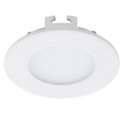 Eglo FUEVA 1 94043 Встраиваемые и накладные светильникиКруглые LED<br>Встраиваемые светильники – популярное осветительное оборудование, которое можно использовать в качестве основного источника или в дополнение к люстре. Они позволяют создать нужную атмосферу атмосферу и привнести в интерьер уют и комфорт.   Интернет-магазин «Светодом» предлагает стильный встраиваемый светильник Eglo 94043. Данная модель достаточно универсальна, поэтому подойдет практически под любой интерьер. Перед покупкой не забудьте ознакомиться с техническими параметрами, чтобы узнать тип цоколя, площадь освещения и другие важные характеристики.   Приобрести встраиваемый светильник Eglo 94043 в нашем онлайн-магазине Вы можете либо с помощью «Корзины», либо по контактным номерам. Мы развозим заказы по Москве, Екатеринбургу и остальным российским городам.<br><br>Цветовая t, К: 4000 (белый)<br>Тип лампы: LED<br>Тип цоколя: LED<br>Цвет арматуры: белый<br>Диаметр, мм мм: 85<br>Размеры основания, мм: 0<br>Диаметр врезного отверстия, мм: 25<br>MAX мощность ламп, Вт: 2.7<br>Общая мощность, Вт: 2,7W