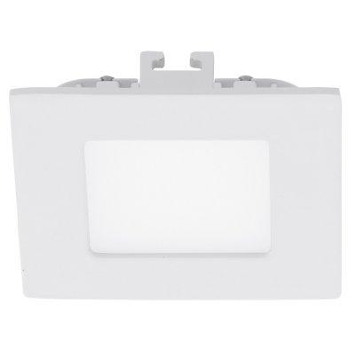Eglo FUEVA 1 94046 Встраиваемые и накладные светильникиКвадратные LED<br>Встраиваемые светильники – популярное осветительное оборудование, которое можно использовать в качестве основного источника или в дополнение к люстре. Они позволяют создать нужную атмосферу атмосферу и привнести в интерьер уют и комфорт.   Интернет-магазин «Светодом» предлагает стильный встраиваемый светильник Eglo 94046. Данная модель достаточно универсальна, поэтому подойдет практически под любой интерьер. Перед покупкой не забудьте ознакомиться с техническими параметрами, чтобы узнать тип цоколя, площадь освещения и другие важные характеристики.   Приобрести встраиваемый светильник Eglo 94046 в нашем онлайн-магазине Вы можете либо с помощью «Корзины», либо по контактным номерам. Мы развозим заказы по Москве, Екатеринбургу и остальным российским городам.<br><br>Цветовая t, К: 4000 (белый)<br>Тип лампы: LED<br>Тип цоколя: LED<br>Ширина, мм: 85<br>MAX мощность ламп, Вт: 2.7<br>Размеры основания, мм: 0<br>Диаметр врезного отверстия, мм: 25<br>Длина, мм: 85<br>Цвет арматуры: белый<br>Общая мощность, Вт: 2,7W