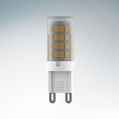 Lightstar 940462 Лампа LED 220V JC G9 6W=60W 492LM 360G FR 3000K 20000HКапсульные G9 220v<br><br><br>Цветовая t, К: 3000<br>Тип лампы: LED<br>Тип цоколя: G9<br>MAX мощность ламп, Вт: 6<br>Диаметр, мм мм: 18<br>Высота, мм: 55