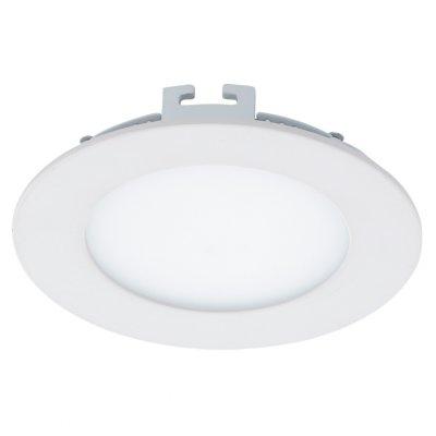 Eglo FUEVA 1 94051 Встраиваемые и накладные светильникиКруглые LED<br>Встраиваемые светильники – популярное осветительное оборудование, которое можно использовать в качестве основного источника или в дополнение к люстре. Они позволяют создать нужную атмосферу атмосферу и привнести в интерьер уют и комфорт.   Интернет-магазин «Светодом» предлагает стильный встраиваемый светильник Eglo 94051. Данная модель достаточно универсальна, поэтому подойдет практически под любой интерьер. Перед покупкой не забудьте ознакомиться с техническими параметрами, чтобы узнать тип цоколя, площадь освещения и другие важные характеристики.   Приобрести встраиваемый светильник Eglo 94051 в нашем онлайн-магазине Вы можете либо с помощью «Корзины», либо по контактным номерам. Мы развозим заказы по Москве, Екатеринбургу и остальным российским городам.<br><br>Цветовая t, К: 4000 (белый)<br>Тип лампы: LED<br>Тип цоколя: LED<br>MAX мощность ламп, Вт: 5.5<br>Диаметр, мм мм: 120<br>Размеры основания, мм: 0<br>Диаметр врезного отверстия, мм: 25<br>Цвет арматуры: белый<br>Общая мощность, Вт: 5,5W
