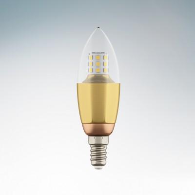 Lightstar 940522 Лампа LED 220V C35 E14 7W=70W 460LM 60G CL/GD 3000K 20000HВ виде свечи<br>В интернет-магазине «Светодом» можно купить не только люстры и светильники, но и лампочки. В нашем каталоге представлены светодиодные, галогенные, энергосберегающие модели и лампы накаливания. В ассортименте имеются изделия разной мощности, поэтому у нас Вы сможете приобрести все необходимое для освещения. <br> Лампа Lightstar 940522 LED 220V C35 E14 7W=70W 460LM 60G CL/GD 3000K 20000H обеспечит отличное качество освещения. При покупке ознакомьтесь с параметрами в разделе «Характеристики», чтобы не ошибиться в выборе. Там же указано, для каких осветительных приборов Вы можете использовать лампу Lightstar 940522 LED 220V C35 E14 7W=70W 460LM 60G CL/GD 3000K 20000HLightstar 940522 LED 220V C35 E14 7W=70W 460LM 60G CL/GD 3000K 20000H. <br> Для оформления покупки воспользуйтесь «Корзиной». При наличии вопросов Вы можете позвонить нашим менеджерам по одному из контактных номеров. Мы доставляем заказы в Москву, Екатеринбург и другие города России.<br><br>Цветовая t, К: 2800<br>Тип лампы: LED<br>Тип цоколя: E14<br>MAX мощность ламп, Вт: 7<br>Диаметр, мм мм: 35<br>Высота, мм: 110