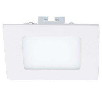 Eglo FUEVA 1 94054 Встраиваемые и накладные светильникиКвадратные LED<br>Встраиваемые светильники – популярное осветительное оборудование, которое можно использовать в качестве основного источника или в дополнение к люстре. Они позволяют создать нужную атмосферу атмосферу и привнести в интерьер уют и комфорт.   Интернет-магазин «Светодом» предлагает стильный встраиваемый светильник Eglo 94054. Данная модель достаточно универсальна, поэтому подойдет практически под любой интерьер. Перед покупкой не забудьте ознакомиться с техническими параметрами, чтобы узнать тип цоколя, площадь освещения и другие важные характеристики.   Приобрести встраиваемый светильник Eglo 94054 в нашем онлайн-магазине Вы можете либо с помощью «Корзины», либо по контактным номерам. Мы развозим заказы по Москве, Екатеринбургу и остальным российским городам.<br><br>Цветовая t, К: 4000 (белый)<br>Тип лампы: LED<br>Тип цоколя: LED<br>Ширина, мм: 120<br>MAX мощность ламп, Вт: 5.5<br>Размеры основания, мм: 0<br>Диаметр врезного отверстия, мм: 25<br>Длина, мм: 120<br>Цвет арматуры: белый<br>Общая мощность, Вт: 5,5W