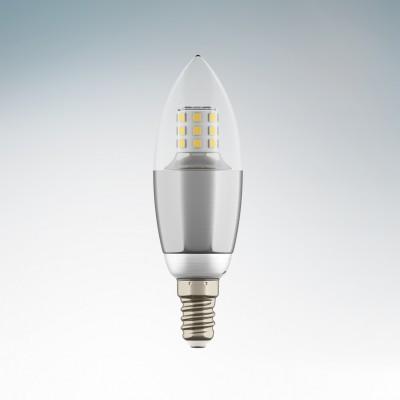 Lightstar 940542 Лампа LED 220V C35 E14 7W=70W 460LM 60G CL/CH 3000K 20000HВ виде свечи<br>В интернет-магазине «Светодом» можно купить не только люстры и светильники, но и лампочки. В нашем каталоге представлены светодиодные, галогенные, энергосберегающие модели и лампы накаливания. В ассортименте имеются изделия разной мощности, поэтому у нас Вы сможете приобрести все необходимое для освещения. <br> Лампа Lightstar 940542 LED 220V C35 E14 7W=70W 460LM 60G CL/CH 3000K 20000H обеспечит отличное качество освещения. При покупке ознакомьтесь с параметрами в разделе «Характеристики», чтобы не ошибиться в выборе. Там же указано, для каких осветительных приборов Вы можете использовать лампу Lightstar 940542 LED 220V C35 E14 7W=70W 460LM 60G CL/CH 3000K 20000HLightstar 940542 LED 220V C35 E14 7W=70W 460LM 60G CL/CH 3000K 20000H. <br> Для оформления покупки воспользуйтесь «Корзиной». При наличии вопросов Вы можете позвонить нашим менеджерам по одному из контактных номеров. Мы доставляем заказы в Москву, Екатеринбург и другие города России.<br><br>Цветовая t, К: 2800<br>Тип лампы: LED<br>Тип цоколя: E14<br>MAX мощность ламп, Вт: 7<br>Диаметр, мм мм: 35<br>Высота, мм: 110