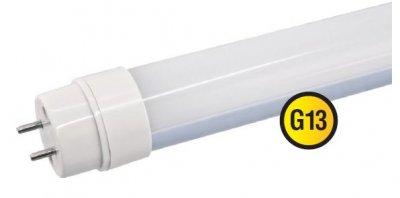 Светодиодная лампа Navigator 94 064 NLL-T8-11-230-6.5K-G13С цоколем G13<br>Navigator NLL-T8 – светодиодная энергосберегающая лампа общего освещения. Колба лампы цилиндрическая, матовая. Лампа NLL-T8 повторяет форму и размеры стандартных линейных люминесцентных ламп Т8 и идеально подходит к любому светильнику, в котором используются данные типы ламп. В светодиодных лампах серии NLL-T8 применяются высокоэффективные планарные светодиоды Epistar, обеспечивающие эффективность 90 лм/Вт. При этом коэффициент цветопередачи ламп обеспечивается на уровне Ragt; 75.  Ассортимент светодиодных ламп серии NLL-T8 представлен цветовыми температурами излучаемого света 4000 К и 6500 К. Для отвода тепла применяется алюминиевый радиатор, установленный внутри лампы, что способствует увеличению ее срока службы. Лампа работает от сетевого напряжения 150–250 В с частотой 50/60 Гц без ПРА. Цоколи лампы поворотные.  Срок службы светодиодных ламп Navigator NLL-T8 составляет 40 000 часов.<br><br>Цветовая t, К: CW - дневной белый 6000 К<br>Тип лампы: LED - светодиодная<br>Тип цоколя: G13<br>MAX мощность ламп, Вт: 11<br>Диаметр, мм мм: 28,5<br>Длина, мм: 589,8