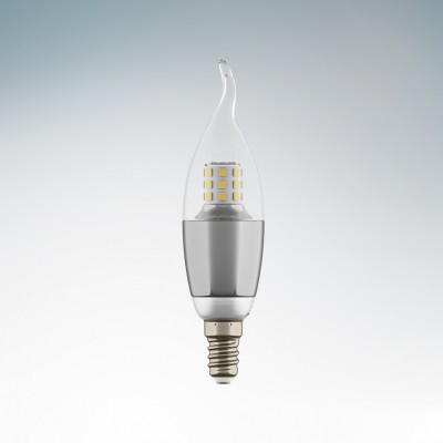 Lightstar 940644 Лампа LED 220V CA35 E14 7W=70W 460LM 60G CL/CH 4200K 20000HВ виде свечи<br>В интернет-магазине «Светодом» можно купить не только люстры и светильники, но и лампочки. В нашем каталоге представлены светодиодные, галогенные, энергосберегающие модели и лампы накаливания. В ассортименте имеются изделия разной мощности, поэтому у нас Вы сможете приобрести все необходимое для освещения. <br> Лампа Lightstar 940644 LED 220V CA35 E14 7W=70W 460LM 60G CL/CH 4200K 20000H обеспечит отличное качество освещения. При покупке ознакомьтесь с параметрами в разделе «Характеристики», чтобы не ошибиться в выборе. Там же указано, для каких осветительных приборов Вы можете использовать лампу Lightstar 940644 LED 220V CA35 E14 7W=70W 460LM 60G CL/CH 4200K 20000HLightstar 940644 LED 220V CA35 E14 7W=70W 460LM 60G CL/CH 4200K 20000H. <br> Для оформления покупки воспользуйтесь «Корзиной». При наличии вопросов Вы можете позвонить нашим менеджерам по одному из контактных номеров. Мы доставляем заказы в Москву, Екатеринбург и другие города России.<br><br>Цветовая t, К: 4200<br>Тип лампы: LED<br>Тип цоколя: E14<br>MAX мощность ламп, Вт: 7<br>Диаметр, мм мм: 35<br>Высота, мм: 135