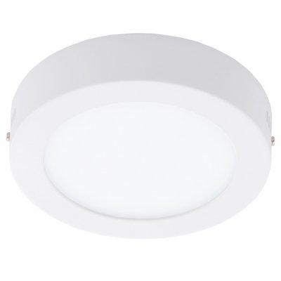 Eglo FUEVA 1 94072 Встраиваемые и накладные светильникиКруглые<br>Настенно-потолочные светильники – это универсальные осветительные варианты, которые подходят для вертикального и горизонтального монтажа. В интернет-магазине «Светодом» Вы можете приобрести подобные модели по выгодной стоимости. В нашем каталоге представлены как бюджетные варианты, так и эксклюзивные изделия от производителей, которые уже давно заслужили доверие дизайнеров и простых покупателей.  Настенно-потолочный светильник Eglo 94072 станет прекрасным дополнением к основному освещению. Благодаря качественному исполнению и применению современных технологий при производстве эта модель будет радовать Вас своим привлекательным внешним видом долгое время.  Приобрести настенно-потолочный светильник Eglo 94072 можно, находясь в любой точке России. Компания «Светодом» осуществляет доставку заказов не только по Москве и Екатеринбургу, но и в остальные города.<br><br>S освещ. до, м2: 4<br>Цветовая t, К: 4000 (белый)<br>Тип лампы: LED - светодиодная<br>Тип цоколя: LED<br>MAX мощность ламп, Вт: 10<br>Диаметр, мм мм: 170<br>Размеры основания, мм: 0<br>Высота, мм: 35<br>Цвет арматуры: белый<br>Общая мощность, Вт: 10,89W