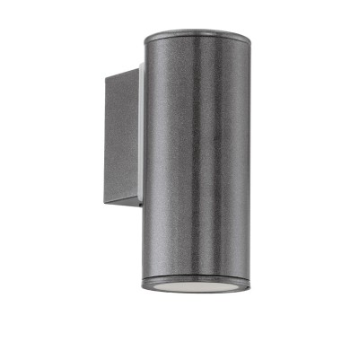 Eglo RIGA 94102 светильник уличныйНастенные<br>Обеспечение качественного уличного освещения – важная задача для владельцев коттеджей. Компания «Светодом» предлагает современные светильники, которые порадуют Вас отличным исполнением. В нашем каталоге представлена продукция известных производителей, пользующихся популярностью благодаря высокому качеству выпускаемых товаров.   Уличный светильник Eglo RIGA 94102 уличный не просто обеспечит качественное освещение, но и станет украшением Вашего участка. Модель выполнена из современных материалов и имеет влагозащитный корпус, благодаря которому ей не страшны осадки.   Купить уличный светильник Eglo RIGA 94102 уличный, представленный в нашем каталоге, можно с помощью онлайн-формы для заказа. Чтобы задать имеющиеся вопросы, звоните нам по указанным телефонам.<br><br>Тип лампы: галогенная / LED-светодиодная<br>Тип цоколя: GU10-LED<br>Цвет арматуры: черный<br>Количество ламп: 1<br>Длина, мм: 65<br>Расстояние от стены, мм: 95<br>Высота, мм: 150<br>MAX мощность ламп, Вт: 3<br>Общая мощность, Вт: 2