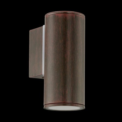 Eglo RIGA 94104 светильник уличныйНастенные<br>Обеспечение качественного уличного освещения – важная задача для владельцев коттеджей. Компания «Светодом» предлагает современные светильники, которые порадуют Вас отличным исполнением. В нашем каталоге представлена продукция известных производителей, пользующихся популярностью благодаря высокому качеству выпускаемых товаров.   Уличный светильник Eglo RIGA 94104 уличный не просто обеспечит качественное освещение, но и станет украшением Вашего участка. Модель выполнена из современных материалов и имеет влагозащитный корпус, благодаря которому ей не страшны осадки.   Купить уличный светильник Eglo RIGA 94104 уличный, представленный в нашем каталоге, можно с помощью онлайн-формы для заказа. Чтобы задать имеющиеся вопросы, звоните нам по указанным телефонам.<br><br>Тип лампы: галогенная / LED-светодиодная<br>Тип цоколя: GU10-LED<br>Количество ламп: 1<br>MAX мощность ламп, Вт: 3<br>Длина, мм: 65<br>Расстояние от стены, мм: 95<br>Высота, мм: 150<br>Цвет арматуры: коричневый<br>Общая мощность, Вт: 2