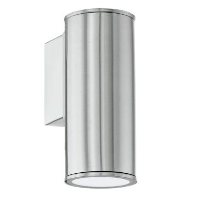 Eglo RIGA 94106 светильник уличныйНастенные<br>Обеспечение качественного уличного освещения – важная задача для владельцев коттеджей. Компания «Светодом» предлагает современные светильники, которые порадуют Вас отличным исполнением. В нашем каталоге представлена продукция известных производителей, пользующихся популярностью благодаря высокому качеству выпускаемых товаров.   Уличный светильник Eglo RIGA 94106 уличный не просто обеспечит качественное освещение, но и станет украшением Вашего участка. Модель выполнена из современных материалов и имеет влагозащитный корпус, благодаря которому ей не страшны осадки.   Купить уличный светильник Eglo RIGA 94106 уличный, представленный в нашем каталоге, можно с помощью онлайн-формы для заказа. Чтобы задать имеющиеся вопросы, звоните нам по указанным телефонам.<br><br>Тип лампы: галогенная / LED-светодиодная<br>Тип цоколя: GU10-LED<br>Количество ламп: 1<br>MAX мощность ламп, Вт: 3<br>Длина, мм: 65<br>Расстояние от стены, мм: 95<br>Высота, мм: 150<br>Цвет арматуры: серебристый<br>Общая мощность, Вт: 2