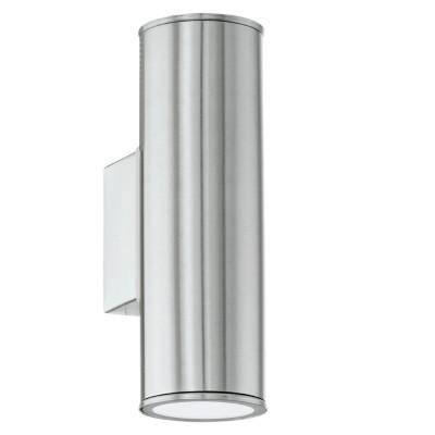 Eglo RIGA 94107 светильник уличныйНастенные<br>Обеспечение качественного уличного освещения – важная задача для владельцев коттеджей. Компания «Светодом» предлагает современные светильники, которые порадуют Вас отличным исполнением. В нашем каталоге представлена продукция известных производителей, пользующихся популярностью благодаря высокому качеству выпускаемых товаров. <br> Уличный светильник Eglo RIGA 94107 уличный не просто обеспечит качественное освещение, но и станет украшением Вашего участка. Модель выполнена из современных материалов и имеет влагозащитный корпус, благодаря которому ей не страшны осадки. <br> Купить уличный светильник Eglo RIGA 94107 уличный, представленный в нашем каталоге, можно с помощью онлайн-формы для заказа. Чтобы задать имеющиеся вопросы, звоните нам по указанным телефонам.<br><br>Тип лампы: LED<br>Тип цоколя: GU10-LED<br>Количество ламп: 2<br>MAX мощность ламп, Вт: 2X3<br>Длина, мм: 65<br>Расстояние от стены, мм: 95<br>Высота, мм: 200<br>Цвет арматуры: серебристый<br>Общая мощность, Вт: 2