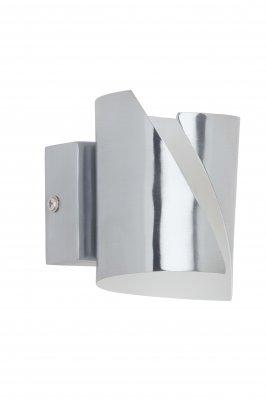 Лампа настенная Brilliant G94129/75 SALINAХай-тек<br>Зачастую мы ищем идеальное освещение для своего дома и уделяем этому достаточно много времени. Так, например, если нам нужен светильник с количеством ламп - 1 и цвет плафонов должен быть - , а материал плафонов только металл! То нам, как вариант, подойдет модель - лампа настенная Brilliant G94129/75.<br><br>S освещ. до, м2: 2<br>Тип лампы: галогенная / LED-светодиодная<br>Тип цоколя: G9<br>Количество ламп: 1<br>Ширина, мм: 70<br>MAX мощность ламп, Вт: 33<br>Диаметр, мм мм: 70<br>Высота, мм: 110<br>Цвет арматуры: серебристый
