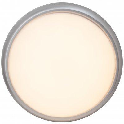 Светильник Brilliant G94141/11 VigorКруглые<br><br><br>Тип товара: Светильник настенно-потолочный<br>Тип лампы: LED - светодиодная<br>Диаметр, мм мм: 330<br>Высота, мм: 70