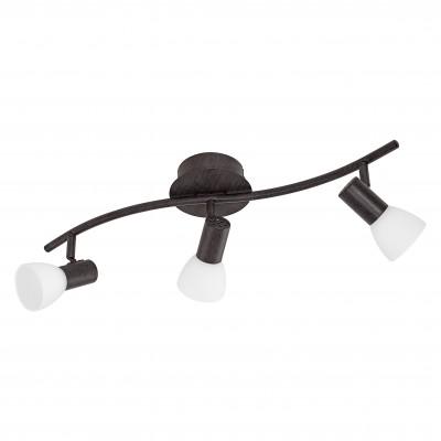 Eglo DAKAR 5 94153 Светильник поворотный спотТройные<br>Светильники-споты – это оригинальные изделия с современным дизайном. Они позволяют не ограничивать свою фантазию при выборе освещения для интерьера. Такие модели обеспечивают достаточно качественный свет. Благодаря компактным размерам Вы можете использовать несколько спотов для одного помещения.  Интернет-магазин «Светодом» предлагает необычный светильник-спот Eglo 94153 по привлекательной цене. Эта модель станет отличным дополнением к люстре, выполненной в том же стиле. Перед оформлением заказа изучите характеристики изделия.  Купить светильник-спот Eglo 94153 в нашем онлайн-магазине Вы можете либо с помощью формы на сайте, либо по указанным выше телефонам. Обратите внимание, что у нас склады не только в Москве и Екатеринбурге, но и других городах России.<br><br>Цветовая t, К: 3000 (теплый белый)<br>Тип цоколя: LED<br>Ширина, мм: 120<br>Размеры основания, мм: 0<br>Длина, мм: 565<br>Оттенок (цвет): белое покрытие<br>Цвет арматуры: коричневый<br>Общая мощность, Вт: 3X3,3W