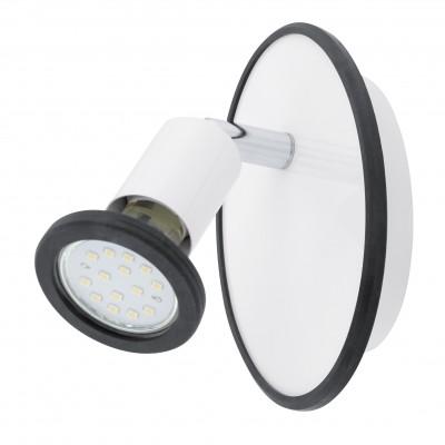 Eglo MODINO 94171 ДетскиеОдиночные<br>Светильники-споты – это оригинальные изделия с современным дизайном. Они позволяют не ограничивать свою фантазию при выборе освещения для интерьера. Такие модели обеспечивают достаточно качественный свет. Благодаря компактным размерам Вы можете использовать несколько спотов для одного помещения.  Интернет-магазин «Светодом» предлагает необычный светильник-спот Eglo 94171 по привлекательной цене. Эта модель станет отличным дополнением к люстре, выполненной в том же стиле. Перед оформлением заказа изучите характеристики изделия.  Купить светильник-спот Eglo 94171 в нашем онлайн-магазине Вы можете либо с помощью формы на сайте, либо по указанным выше телефонам. Обратите внимание, что у нас склады не только в Москве и Екатеринбурге, но и других городах России.<br><br>S освещ. до, м2: 2<br>Тип цоколя: GU10<br>Цвет арматуры: белый<br>Размеры основания, мм: 0<br>Длина, мм: 95<br>Высота, мм: 140<br>Общая мощность, Вт: 1X3W
