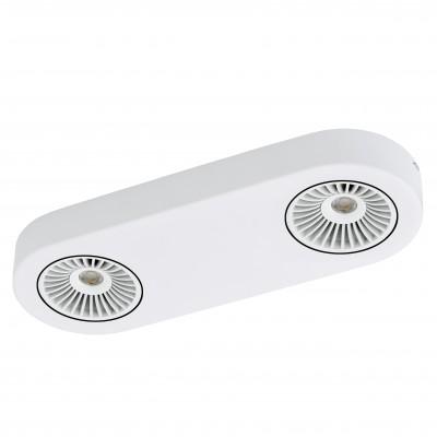 Eglo MONTALE 94176 Светильник поворотный спотДвойные<br>Светильники-споты – это оригинальные изделия с современным дизайном. Они позволяют не ограничивать свою фантазию при выборе освещения для интерьера. Такие модели обеспечивают достаточно качественный свет. Благодаря компактным размерам Вы можете использовать несколько спотов для одного помещения.  Интернет-магазин «Светодом» предлагает необычный светильник-спот Eglo 94176 по привлекательной цене. Эта модель станет отличным дополнением к люстре, выполненной в том же стиле. Перед оформлением заказа изучите характеристики изделия.  Купить светильник-спот Eglo 94176 в нашем онлайн-магазине Вы можете либо с помощью формы на сайте, либо по указанным выше телефонам. Обратите внимание, что у нас склады не только в Москве и Екатеринбурге, но и других городах России.<br><br>S освещ. до, м2: 5<br>Цветовая t, К: 3000 (теплый белый)<br>Тип цоколя: LED<br>Цвет арматуры: белый<br>Ширина, мм: 115<br>Размеры основания, мм: 0<br>Длина, мм: 315<br>Расстояние от стены, мм: 55<br>Общая мощность, Вт: 2X5,4W