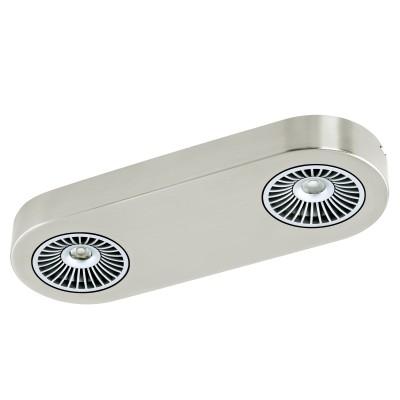 Eglo MONTALE 94181 Спотыдлинные настенно-потолочные светильники<br>Настенно-потолочные светильники – это универсальные осветительные варианты, которые подходят для вертикального и горизонтального монтажа. В интернет-магазине «Светодом» Вы можете приобрести подобные модели по выгодной стоимости. В нашем каталоге представлены как бюджетные варианты, так и эксклюзивные изделия от производителей, которые уже давно заслужили доверие дизайнеров и простых покупателей.  Настенно-потолочный светильник Eglo 94181 станет прекрасным дополнением к основному освещению. Благодаря качественному исполнению и применению современных технологий при производстве эта модель будет радовать Вас своим привлекательным внешним видом долгое время. Приобрести настенно-потолочный светильник Eglo 94181 можно, находясь в любой точке России.<br><br>S освещ. до, м2: 4<br>Цветовая t, К: 3000 (теплый белый)<br>Тип цоколя: LED<br>Цвет арматуры: серебристый<br>Количество ламп: 2<br>Ширина, мм: 115<br>Размеры основания, мм: 0<br>Длина, мм: 315<br>Расстояние от стены, мм: 55<br>MAX мощность ламп, Вт: 5,4<br>Общая мощность, Вт: 2X5,4W