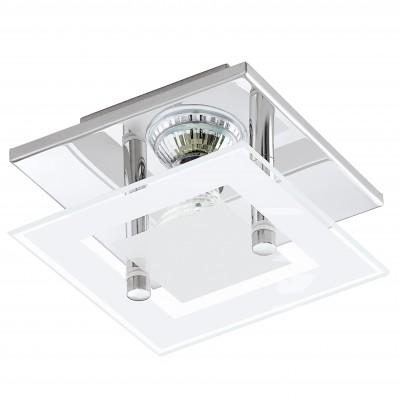 Eglo ALMANA 94224 Светодиодная лентаДекоративные<br>Настенно-потолочные светильники – это универсальные осветительные варианты, которые подходят для вертикального и горизонтального монтажа. В интернет-магазине «Светодом» Вы можете приобрести подобные модели по выгодной стоимости. В нашем каталоге представлены как бюджетные варианты, так и эксклюзивные изделия от производителей, которые уже давно заслужили доверие дизайнеров и простых покупателей.  Настенно-потолочный светильник Eglo 94224 станет прекрасным дополнением к основному освещению. Благодаря качественному исполнению и применению современных технологий при производстве эта модель будет радовать Вас своим привлекательным внешним видом долгое время. Приобрести настенно-потолочный светильник Eglo 94224 можно, находясь в любой точке России.<br><br>S освещ. до, м2: 1<br>Тип цоколя: GU10<br>Количество ламп: 1<br>MAX мощность ламп, Вт: 3<br>Размеры основания, мм: 0<br>Длина, мм: 135<br>Расстояние от стены, мм: 85<br>Высота, мм: 135<br>Оттенок (цвет): белый, прозрачный<br>Цвет арматуры: серебристый<br>Общая мощность, Вт: 1X3W