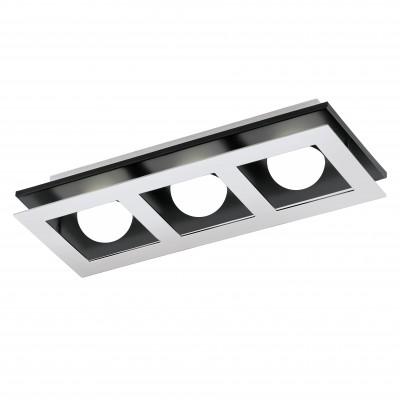 Eglo BELLAMONTE 94232 Настенно-потолочные светильникиДлинные<br>Настенно-потолочные светильники – то универсальные осветительные варианты, которые подходт дл вертикального и горизонтального монтажа. В интернет-магазине «Светодом» Вы можете приобрести подобные модели по выгодной стоимости. В нашем каталоге представлены как бджетные варианты, так и ксклзивные издели от производителей, которые уже давно заслужили доверие дизайнеров и простых покупателей.  Настенно-потолочный светильник Eglo 94232 станет прекрасным дополнением к основному освещени. Благодар качественному исполнени и применени современных технологий при производстве та модель будет радовать Вас своим привлекательным внешним видом долгое врем. Приобрести настенно-потолочный светильник Eglo 94232 можно, находсь в лбой точке России. Компани «Светодом» осуществлет доставку заказов не только по Москве и Екатеринбургу, но и в остальные города.<br><br>S освещ. до, м2: 4<br>Цветова t, К: 3000 (теплый белый)<br>Тип цокол: LED<br>Количество ламп: 3<br>MAX мощность ламп, Вт: 3,3<br>Размеры основани, мм: 0<br>Длина, мм: 370<br>Расстоние от стены, мм: 65<br>Высота, мм: 140<br>Оттенок (цвет): белый<br>Цвет арматуры: серебристый<br>Обща мощность, Вт: 3X3,3W