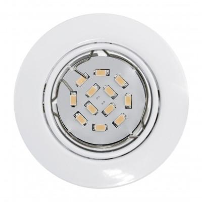 Eglo PENETO 94239 Встраиваемые и накладные светильникиКруглые<br>Встраиваемые светильники – популярное осветительное оборудование, которое можно использовать в качестве основного источника или в дополнение к люстре. Они позволяют создать нужную атмосферу атмосферу и привнести в интерьер уют и комфорт.   Интернет-магазин «Светодом» предлагает стильный встраиваемый светильник Eglo 94239. Данная модель достаточно универсальна, поэтому подойдет практически под любой интерьер. Перед покупкой не забудьте ознакомиться с техническими параметрами, чтобы узнать тип цоколя, площадь освещения и другие важные характеристики.   Приобрести встраиваемый светильник Eglo 94239 в нашем онлайн-магазине Вы можете либо с помощью «Корзины», либо по контактным номерам. Мы развозим заказы по Москве, Екатеринбургу и остальным российским городам.<br><br>Тип цоколя: GU10<br>Диаметр, мм мм: 87<br>Размеры основания, мм: 0<br>Диаметр врезного отверстия, мм: 88<br>Цвет арматуры: белый<br>Общая мощность, Вт: 1X5W