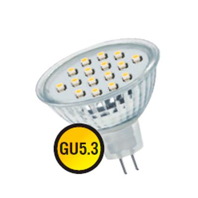 Лампа Navigator 94 251 NLL-MR16-1.6W-230-3K-GU5.3Зеркальные MR16 - 5.3<br>В интернет-магазине «Светодом» можно купить не только люстры и светильники, но и лампочки. В нашем каталоге представлены светодиодные, галогенные, энергосберегающие модели и лампы накаливания. В ассортименте имеются изделия разной мощности, поэтому у нас Вы сможете приобрести все необходимое для освещения.   Лампа Navigator 94 251 NLL-MR16-1.6W-230-3K-GU5.3 обеспечит отличное качество освещения. При покупке ознакомьтесь с параметрами в разделе «Характеристики», чтобы не ошибиться в выборе. Там же указано, для каких осветительных приборов Вы можете использовать лампу Navigator 94 251 NLL-MR16-1.6W-230-3K-GU5.3Navigator 94 251 NLL-MR16-1.6W-230-3K-GU5.3.   Для оформления покупки воспользуйтесь «Корзиной». При наличии вопросов Вы можете позвонить нашим менеджерам по одному из контактных номеров. Мы доставляем заказы в Москву, Екатеринбург и другие города России.<br><br>Цветовая t, К: WW - теплый белый 2700-3000 К<br>Тип лампы: LED - светодиодная<br>Тип цоколя: GU5.3 (MR16)<br>MAX мощность ламп, Вт: 1,6