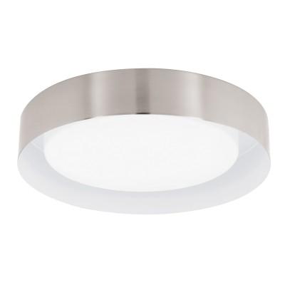 Eglo ESTOSA 94257 Настенно-потолочный светильникКруглые<br>Настенно-потолочные светильники – это универсальные осветительные варианты, которые подходят для вертикального и горизонтального монтажа. В интернет-магазине «Светодом» Вы можете приобрести подобные модели по выгодной стоимости. В нашем каталоге представлены как бюджетные варианты, так и эксклюзивные изделия от производителей, которые уже давно заслужили доверие дизайнеров и простых покупателей.  Настенно-потолочный светильник Eglo 94257 станет прекрасным дополнением к основному освещению. Благодаря качественному исполнению и применению современных технологий при производстве эта модель будет радовать Вас своим привлекательным внешним видом долгое время.  Приобрести настенно-потолочный светильник Eglo 94257 можно, находясь в любой точке России.<br><br>S освещ. до, м2: 5<br>Цветовая t, К: 3000 (теплый белый)<br>Тип цоколя: LED<br>Количество ламп: 1<br>MAX мощность ламп, Вт: 12<br>Диаметр, мм мм: 370<br>Размеры основания, мм: 0<br>Высота, мм: 90<br>Оттенок (цвет): белый<br>Цвет арматуры: серый<br>Общая мощность, Вт: 12W