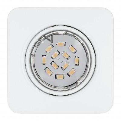 Eglo PENETO 94266 Встраиваемые и накладные светильникиКвадратные<br>Встраиваемые светильники – популярное осветительное оборудование, которое можно использовать в качестве основного источника или в дополнение к люстре. Они позволяют создать нужную атмосферу атмосферу и привнести в интерьер уют и комфорт.   Интернет-магазин «Светодом» предлагает стильный встраиваемый светильник Eglo 94266. Данная модель достаточно универсальна, поэтому подойдет практически под любой интерьер. Перед покупкой не забудьте ознакомиться с техническими параметрами, чтобы узнать тип цоколя, площадь освещения и другие важные характеристики.   Приобрести встраиваемый светильник Eglo 94266 в нашем онлайн-магазине Вы можете либо с помощью «Корзины», либо по контактным номерам. Мы развозим заказы по Москве, Екатеринбургу и остальным российским городам.<br><br>Тип цоколя: GU10<br>Ширина, мм: 87<br>Размеры основания, мм: 0<br>Диаметр врезного отверстия, мм: 88<br>Длина, мм: 87<br>Цвет арматуры: белый<br>Общая мощность, Вт: 3X5W