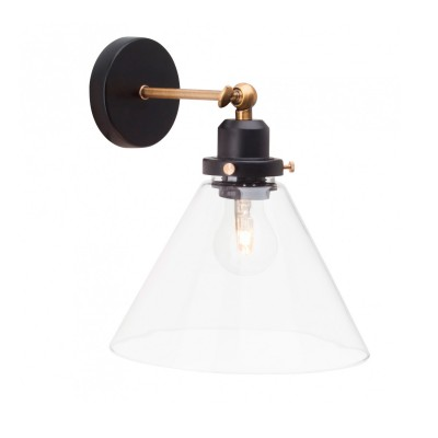 Светильник настенный Brilliant 94273/76 RonaldМодерн<br><br><br>Тип лампы: Накаливания / энергосбережения / светодиодная<br>Тип цоколя: E27<br>Количество ламп: 1<br>Ширина, мм: 220<br>MAX мощность ламп, Вт: 42<br>Длина, мм: 370<br>Высота, мм: 270<br>Цвет арматуры: коричневый