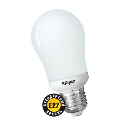 Лампа Navigator 94 273 NCL-A55-15-827-E27В виде шарика<br>В интернет-магазине «Светодом» можно купить не только люстры и светильники, но и лампочки. В нашем каталоге представлены светодиодные, галогенные, энергосберегающие модели и лампы накаливания. В ассортименте имеются изделия разной мощности, поэтому у нас Вы сможете приобрести все необходимое для освещения. <br> Лампа Navigator 94 273 NCL-A55-15-827-E27 обеспечит отличное качество освещения. При покупке ознакомьтесь с параметрами в разделе «Характеристики», чтобы не ошибиться в выборе. Там же указано, для каких осветительных приборов Вы можете использовать лампу Navigator 94 273 NCL-A55-15-827-E27Navigator 94 273 NCL-A55-15-827-E27. <br> Для оформления покупки воспользуйтесь «Корзиной». При наличии вопросов Вы можете позвонить нашим менеджерам по одному из контактных номеров. Мы доставляем заказы в Москву, Екатеринбург и другие города России.<br><br>Цветовая t, К: WW - теплый белый 2700-3000 К<br>Тип лампы: Энергосберегающая<br>Тип цоколя: E27<br>MAX мощность ламп, Вт: 15