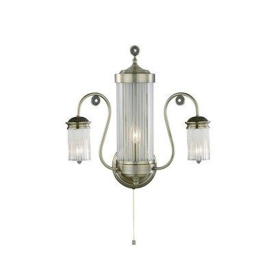 Светильник бра Brilliant 94289/31 NicoleКлассика<br><br><br>S освещ. до, м2: 8<br>Тип лампы: накаливания / энергосбережения / LED-светодиодная<br>Тип цоколя: E14<br>Количество ламп: 3<br>Ширина, мм: 460<br>MAX мощность ламп, Вт: 40<br>Расстояние от стены, мм: 250<br>Высота, мм: 480<br>Цвет арматуры: бронзовый