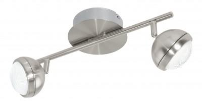Eglo LOMBES 1 94303 Светильник поворотный спотдвойные светильники споты<br>Светильники-споты – это оригинальные изделия с современным дизайном. Они позволяют не ограничивать свою фантазию при выборе освещения для интерьера. Такие модели обеспечивают достаточно качественный свет. Благодаря компактным размерам Вы можете использовать несколько спотов для одного помещения.  Интернет-магазин «Светодом» предлагает необычный светильник-спот Eglo 94303 по привлекательной цене. Эта модель станет отличным дополнением к люстре, выполненной в том же стиле. Перед оформлением заказа изучите характеристики изделия.  Купить светильник-спот Eglo 94303 в нашем онлайн-магазине Вы можете либо с помощью формы на сайте, либо по указанным выше телефонам. Обратите внимание, что у нас склады не только в Москве и Екатеринбурге, но и других городах России.<br><br>S освещ. до, м2: 4<br>Цветовая t, К: 3000 (теплый белый)<br>Тип цоколя: LED<br>Цвет арматуры: серый<br>Ширина, мм: 130<br>Размеры основания, мм: 0<br>Длина, мм: 360<br>Оттенок (цвет): прозрачный<br>Общая мощность, Вт: 2X4,2W