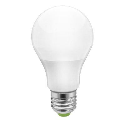Светодиодная лампа Navigator 94 387 NLL-A60-10-230-2.7K-E27Стандартный вид<br>Navigator NLL-A Standart – светодиодная энергосберегающая лампа общего освещения. Колба лампы грушевидная, матовая. Лампа NLL-A повторяет форму и размеры стандартных КЛЛ и ламп накаливания типа «груша» и идеально подходит к любому светильнику, в котором используются данные типы ламп.<br>Основные характеристики<br><br> Высокоэффективные планарные светодиоды Epistar, Ragt; 82  82 Лм/Вт<br> Применение алюминиевого цилиндрического радиатора способствует снижению температуры внутри лампы и, как следствие, увеличению ее срока службы<br> Высокоэффективный драйвер, построенный на интегральной микросхеме, обеспечивает стабильную работу при широком диапазоне входных напряжений (170–260 В)<br> Срок службы 30 000 часов<br><br>Тип товара: Лампа светодиодная NLL LED<br>Скидка, %: 7<br>Цветовая t, К: WW - теплый белый 2700-3000 К<br>Тип лампы: LED - светодиодная<br>Тип цоколя: E27<br>MAX мощность ламп, Вт: 10<br>Диаметр, мм мм: 60<br>Высота, мм: 110