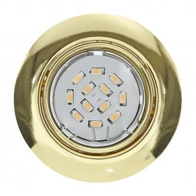 Eglo PENETO 94405 Встраиваемые и накладные светильникиКруглые<br>Встраиваемые светильники – популярное осветительное оборудование, которое можно использовать в качестве основного источника или в дополнение к люстре. Они позволяют создать нужную атмосферу атмосферу и привнести в интерьер уют и комфорт.   Интернет-магазин «Светодом» предлагает стильный встраиваемый светильник Eglo 94405. Данная модель достаточно универсальна, поэтому подойдет практически под любой интерьер. Перед покупкой не забудьте ознакомиться с техническими параметрами, чтобы узнать тип цоколя, площадь освещения и другие важные характеристики.   Приобрести встраиваемый светильник Eglo 94405 в нашем онлайн-магазине Вы можете либо с помощью «Корзины», либо по контактным номерам. Мы развозим заказы по Москве, Екатеринбургу и остальным российским городам.<br><br>Тип цоколя: GU10<br>Диаметр, мм мм: 87<br>Размеры основания, мм: 0<br>Диаметр врезного отверстия, мм: 88<br>Цвет арматуры: латунь<br>Общая мощность, Вт: 1X5W