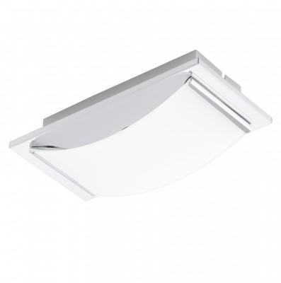 Eglo WASAO 94465 Настенно-потолочные светильникиПрямоугольные<br>Настенно-потолочные светильники – это универсальные осветительные варианты, которые подходят для вертикального и горизонтального монтажа. В интернет-магазине «Светодом» Вы можете приобрести подобные модели по выгодной стоимости. В нашем каталоге представлены как бюджетные варианты, так и эксклюзивные изделия от производителей, которые уже давно заслужили доверие дизайнеров и простых покупателей.  Настенно-потолочный светильник Eglo 94465 станет прекрасным дополнением к основному освещению. Благодаря качественному исполнению и применению современных технологий при производстве эта модель будет радовать Вас своим привлекательным внешним видом долгое время. Приобрести настенно-потолочный светильник Eglo 94465 можно, находясь в любой точке России.<br><br>S освещ. до, м2: 2<br>Цветовая t, К: 3000 (теплый белый)<br>Тип цоколя: LED<br>Количество ламп: 1<br>Ширина, мм: 105<br>MAX мощность ламп, Вт: 5,4<br>Размеры основания, мм: 0<br>Длина, мм: 210<br>Высота, мм: 60<br>Оттенок (цвет): белый<br>Цвет арматуры: серебристый<br>Общая мощность, Вт: 1X5,4W