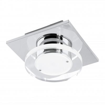 Eglo CISTERNO 94484 Настенно-потолочные светильникиНакладные точечные<br>Встраиваемые светильники – популярное осветительное оборудование, которое можно использовать в качестве основного источника или в дополнение к люстре. Они позволяют создать нужную атмосферу атмосферу и привнести в интерьер уют и комфорт.   Интернет-магазин «Светодом» предлагает стильный встраиваемый светильник Eglo 94484. Данная модель достаточно универсальна, поэтому подойдет практически под любой интерьер. Перед покупкой не забудьте ознакомиться с техническими параметрами, чтобы узнать тип цоколя, площадь освещения и другие важные характеристики.   Приобрести встраиваемый светильник Eglo 94484 в нашем онлайн-магазине Вы можете либо с помощью «Корзины», либо по контактным номерам. Мы развозим заказы по Москве, Екатеринбургу и остальным российским городам.<br><br>Цветовая t, К: 3000 (теплый белый)<br>Тип цоколя: LED<br>Ширина, мм: 130<br>Размеры основания, мм: 0<br>Длина, мм: 130<br>Высота, мм: 70<br>Оттенок (цвет): прозрачный, матовый<br>Цвет арматуры: серебристый<br>Общая мощность, Вт: 1X4,5W