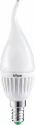 Лампа Navigator 94 495 NLL-FC37-7-230-2.7K-E14-FRВ виде свечи<br>В интернет-магазине «Светодом» можно купить не только люстры и светильники, но и лампочки. В нашем каталоге представлены светодиодные, галогенные, энергосберегающие модели и лампы накаливания. В ассортименте имеются изделия разной мощности, поэтому у нас Вы сможете приобрести все необходимое для освещения.   Лампа Navigator 94 495 NLL-FC37-7-230-2.7K-E14-FR обеспечит отличное качество освещения. При покупке ознакомьтесь с параметрами в разделе «Характеристики», чтобы не ошибиться в выборе. Там же указано, для каких осветительных приборов Вы можете использовать лампу Navigator 94 495 NLL-FC37-7-230-2.7K-E14-FRNavigator 94 495 NLL-FC37-7-230-2.7K-E14-FR.   Для оформления покупки воспользуйтесь «Корзиной». При наличии вопросов Вы можете позвонить нашим менеджерам по одному из контактных номеров. Мы доставляем заказы в Москву, Екатеринбург и другие города России.<br><br>Цветовая t, К: WW - теплый белый 2700-3000 К<br>Тип лампы: LED - светодиодная<br>Тип цоколя: E14<br>MAX мощность ламп, Вт: 7<br>Диаметр, мм мм: 37<br>Длина, мм: 132