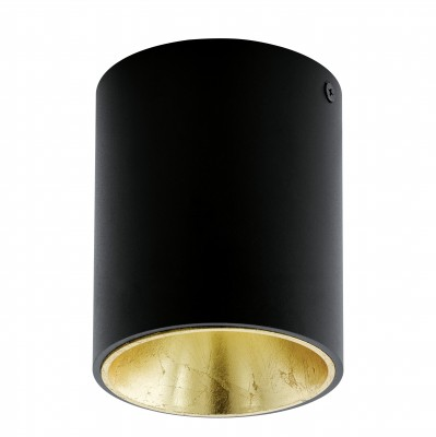 Eglo POLASSO 94502 Настенно-потолочные светильникиДекоративные<br>Настенно-потолочные светильники – это универсальные осветительные варианты, которые подходят для вертикального и горизонтального монтажа. В интернет-магазине «Светодом» Вы можете приобрести подобные модели по выгодной стоимости. В нашем каталоге представлены как бюджетные варианты, так и эксклюзивные изделия от производителей, которые уже давно заслужили доверие дизайнеров и простых покупателей.  Настенно-потолочный светильник Eglo 94502 станет прекрасным дополнением к основному освещению. Благодаря качественному исполнению и применению современных технологий при производстве эта модель будет радовать Вас своим привлекательным внешним видом долгое время.  Приобрести настенно-потолочный светильник Eglo 94502 можно, находясь в любой точке России.<br><br>S освещ. до, м2: 1<br>Цветовая t, К: 3000 (теплый белый)<br>Тип цоколя: LED<br>Количество ламп: 1<br>MAX мощность ламп, Вт: 3,3<br>Диаметр, мм мм: 100<br>Размеры основания, мм: 0<br>Высота, мм: 120<br>Цвет арматуры: черный<br>Общая мощность, Вт: 1X3,3W